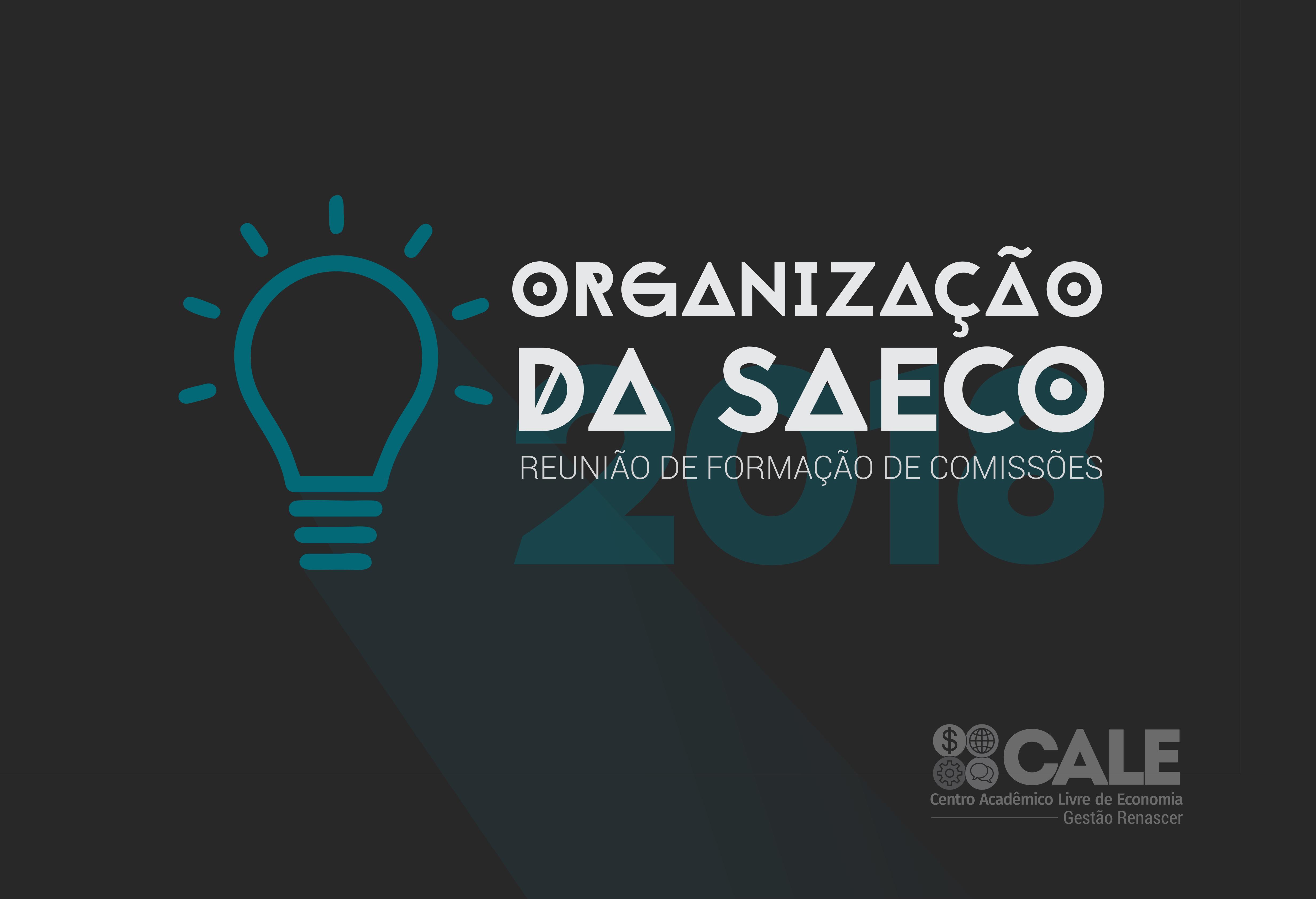 Chamada para organização da SAECO |